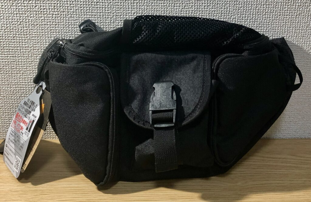 コーデュラウエストバッグの写真です。